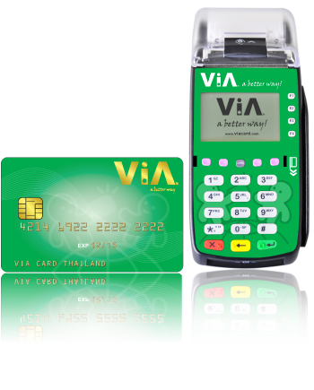 ViA eBM terminal and ViA Card
